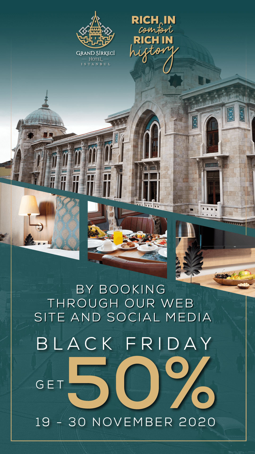 Grand Sirkeci Black Friday Special Discount!