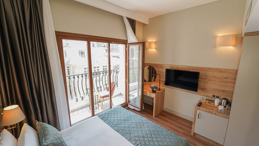 Grand Sirkeci Hotel Standart Room with Balcony