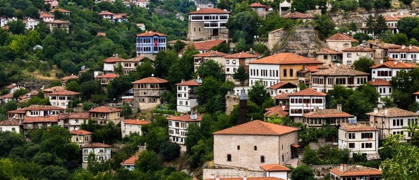 خانه های سنتی ترکی سافرانبلو