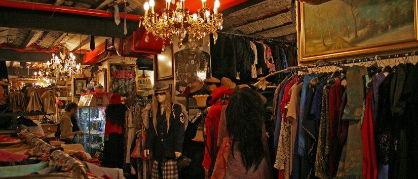 متاجر التحف وأسواق السلع المستعملة في اسطنبول
